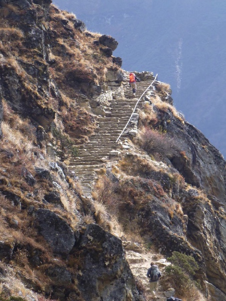 EAT PRAY HIKE - LIFE ON A HIMALAYAN TRAIL