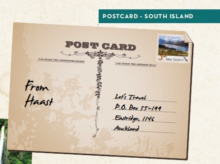POSTCARD FROM HAAST