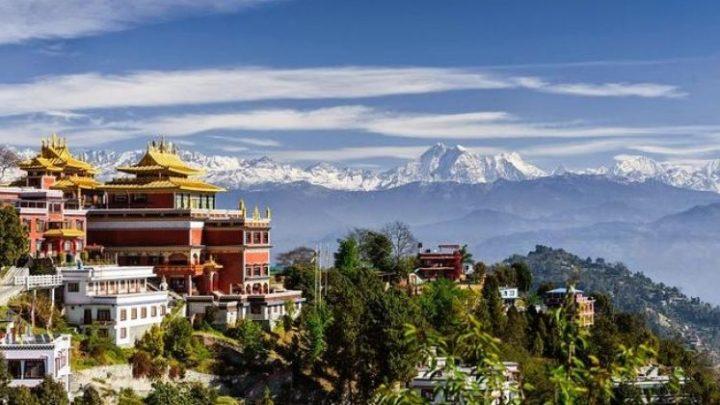 Kartwheeling in Kathmandu