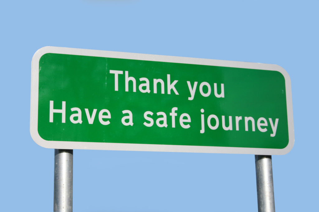 Top Tips for a Safe Journey