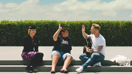 Air NZ with Ronan Keeting & Julian Dennison