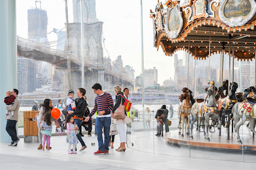 Take a Spin On One of New York's Stunning Carousels