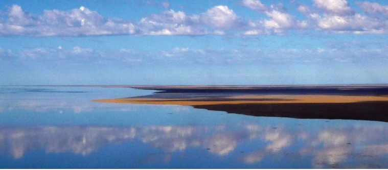 SHIMMER AND SPARKLE - Lake Eyre