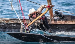 World-class sailor lays down sailing challenge