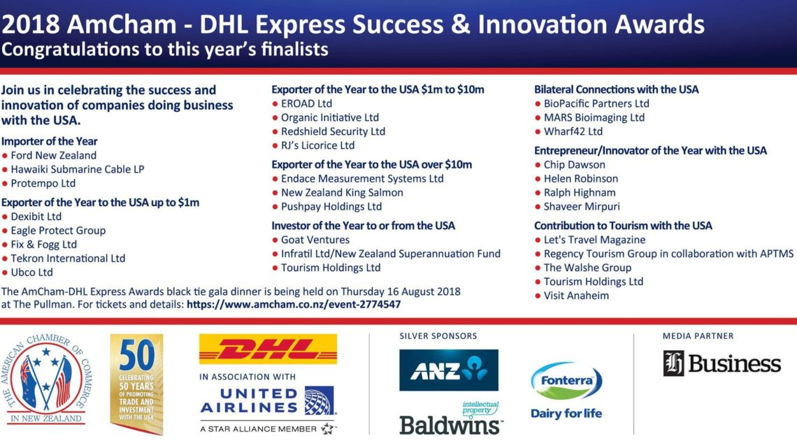 2018 AmCham-DHL Express Success & Innovation Awards