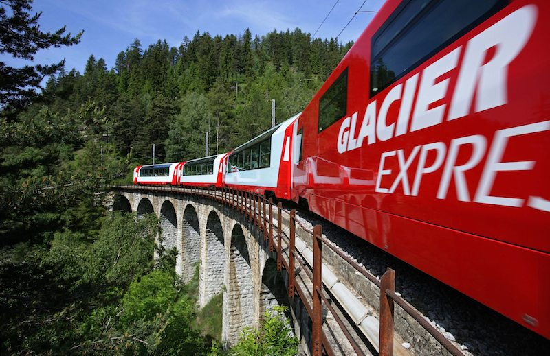 WIN a trip for TWO on the GRAND TRAIN TOUR of SWITZERLAND