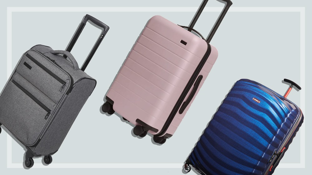 Three of the best carry-on suitcases